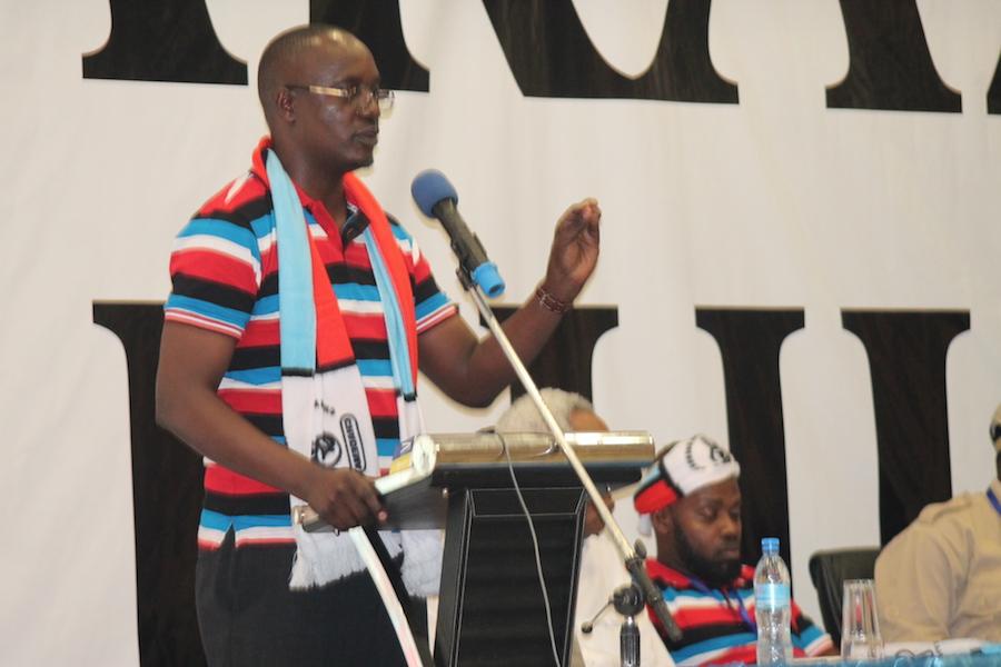 DR.VISENT MASHINJE,KATIBU MKUU CHADEMA.HATIMAE MOSHI MWEUPE