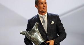Cristiano Ronaldo Anyakuwa Tuzo ya Mwanasoka Bora Ulaya