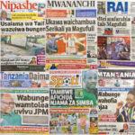 Habari Zilizopo Katika Magazeti ya Leo Jumanne ya April 25