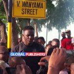 Victor Wanyama Apewa Mtaa Ubungo - Dar