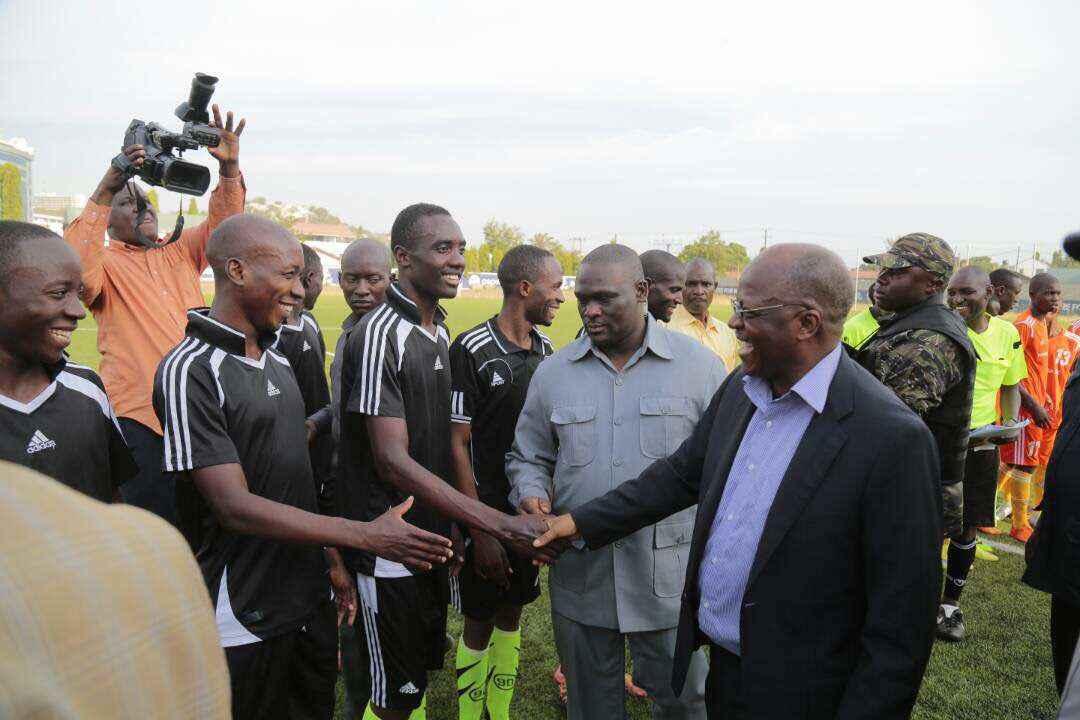 Raisi Magufuli Mwanza