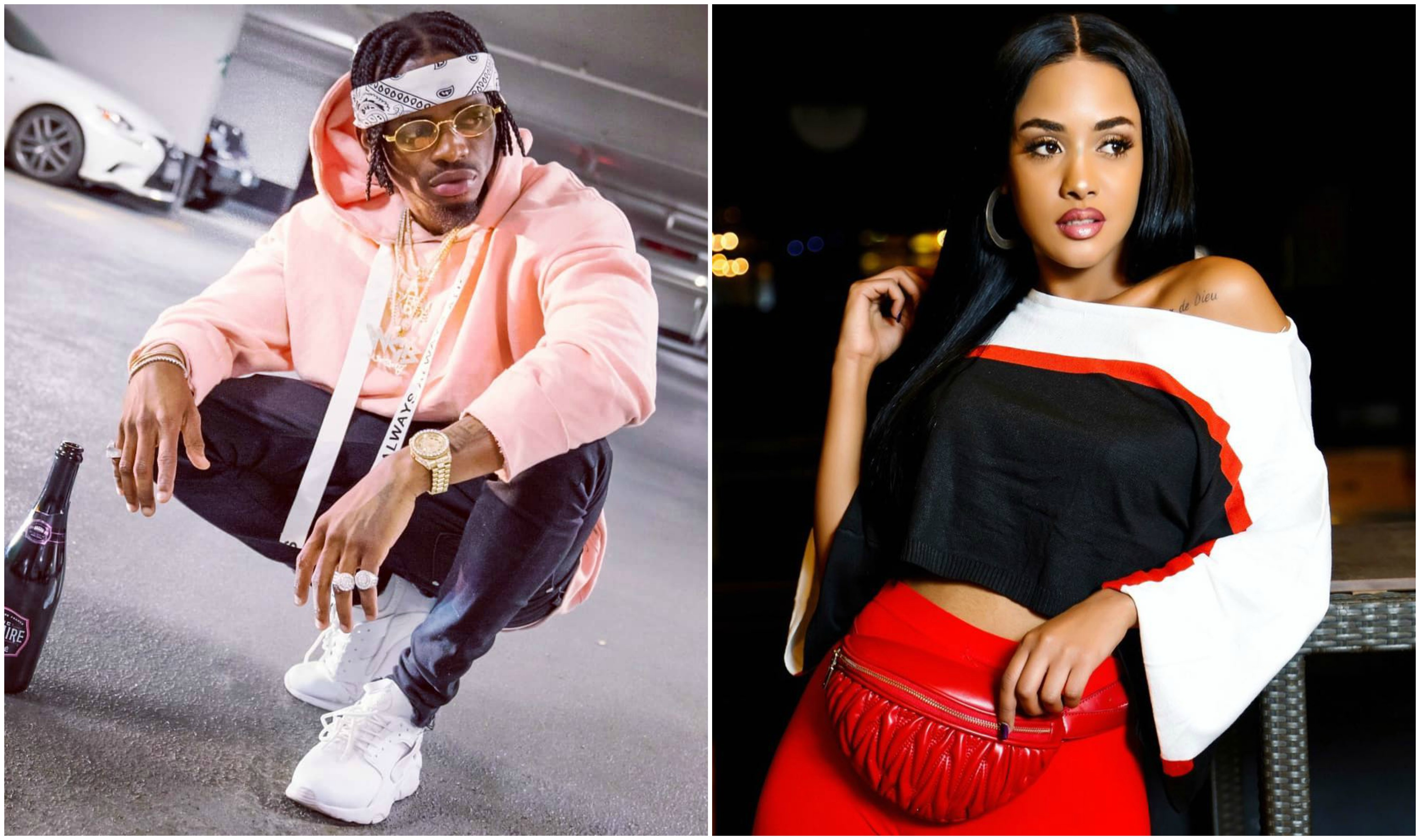 Image result for Diamond Platnumz na mpenzi Tanasha Dona