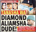 TANASHA WA DIAMOND ALIAMSHA DUDE!