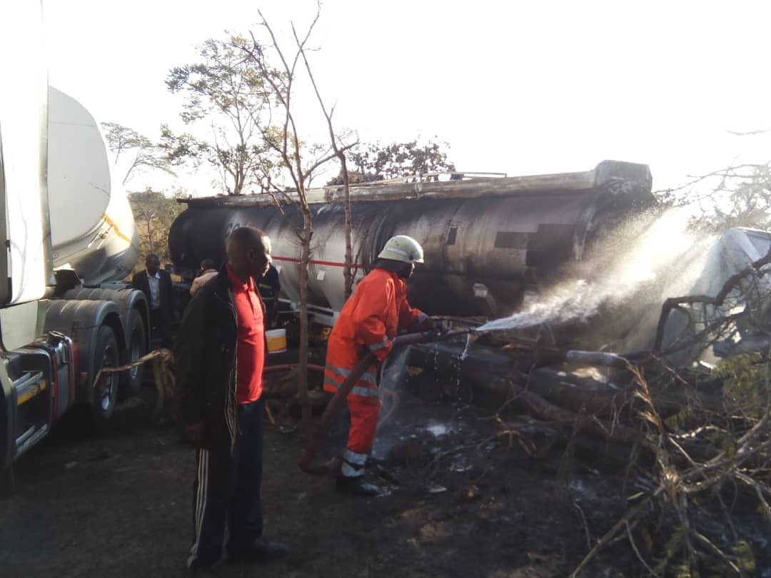 Dereva wa Lori Lililolipuka Ruvuma Apatikana, Amevunjika Mbavu